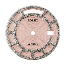 Rolex Day-Date 36mm Pink/Diamond Set Custom Dial
