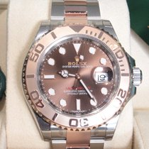 Rolex Yactmaster 40 - Rose Gold / Steel - Choco Dial - 116621