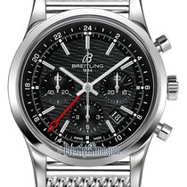 Breitling Transocean Chronograph GMT ab045112/bc67-ss