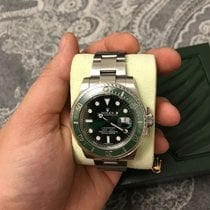 Rolex Submariner Steel Green Dial 116610LV