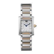Cartier Tank Francaise Quartz Ladies Watch Ref WE110004