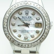 Rolex Datejust 26mm Mother of Pearl Diamond Dial & Bezel...