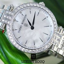 Harry Winston Premier Diamond Mother of Pearl Dial White Gold