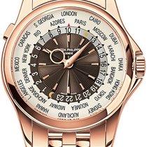 Patek Philippe 5130R-001 World Time 18K Rose Gold