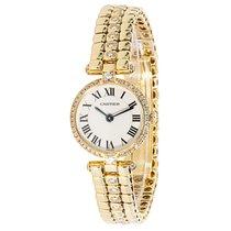 Cartier Vendome Women's Watch in 18K Yellow Gold and Diamonds