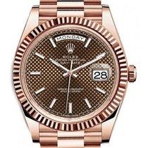 Ρολεξ (Rolex) Day-date 40 Choco Oro Rosa - 228235