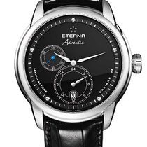 Eterna .. Adventic GMT Manufaktur Werk Automatik NEW FULL SET