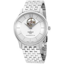 Tissot Tradition Silver Dial Stainless Steel Men's Watch...