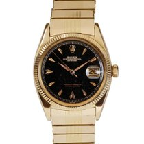 Rolex Vintage 18K Rose Gold Datejust ref 6605