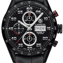 TAG Heuer Carrera Calibre 16 Chronograph Black CV2A81FC6237