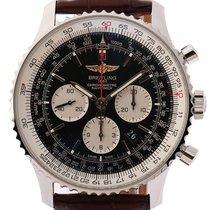 Breitling Navitimer 01 Stahl Automatik Chronograph Leder Kroko...