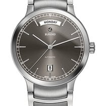 Rado Men's R30156103 Centrix Automatic Day-Date Watch