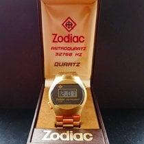 Zodiac ASTRODIGIT LCD DIGITAL VINTAGE ARMBANDUHR UM 1976 BOX