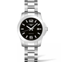 Longines Ladies l33784586 Conquest Quartz Watch