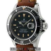 Rolex Submariner Stainless Steel T Swiss Patina Dial Circa...