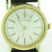 Girard Perregaux Vintage 14k Yellow Gold Mechanical 30mm...