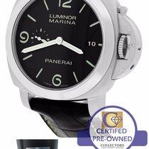 Panerai PAM 312 N Luminor Marina 1950 3 Day Black 44mm Watch