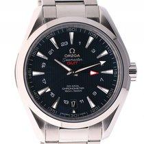 Omega Seamaster Aqua Terra 150m Co-Axial GMT Stahl Automatik 43mm