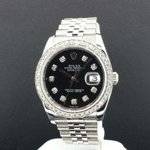 Rolex Datejust Men's Jubilee Ref 116234 Steel 36mm 1.3 CT...