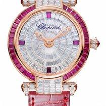 Chopard Imperiale 18K Rose Gold, Diamonds & Rubies Ladies...