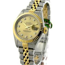 Rolex Used 79173 Ladies Datejust 2-tone Jubilee / Fluted - No...