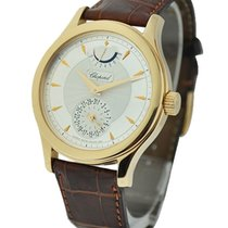 Chopard 161926-5001 L.U.C. Quattro in Rose Gold - on Brown...
