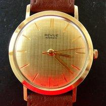 Revue Thommen Gelb Gold 14K 585 Vintage Elegante Automatik...