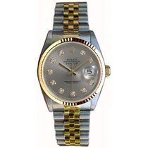 ロレックス (Rolex) Datejust Men's Perfect Condition Model 16233...