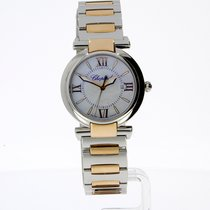 Chopard Imperiale steel/gold quartz watch with Mother of Pearl...
