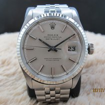 勞力士 (Rolex) DATEJUST 1601 SS ORIGINAL Silver Dial with Folded...