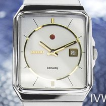 라도 (Rado) Conway Men's Stainless Steel Automatic Watch 80s...