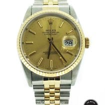 Rolex Men's-Datejust Two Tone 18K/S.S 16233