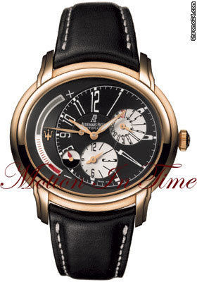 audemars piguet maserati millenary dual time rose. Black Bedroom Furniture Sets. Home Design Ideas