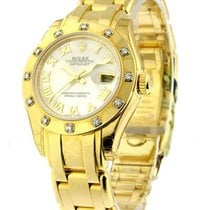 Rolex Unworn 80318 Ladys YG Masterpeice in Yellow Gold with 12...
