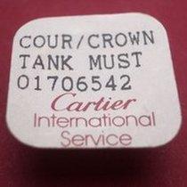 Cartier Krone Tank Must ,Stahl achtsckig 01706542
