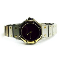 Cartier SANTOS RONDE STEEL & GOLD