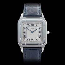 Cartier Santos Dumont Paris Platinum Unisex 1575
