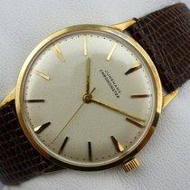 荣汉斯 (Junghans) Chronometer Handaufzug - Gold 585 / 14K - Cal....