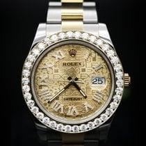 Rolex Diamond Datejust II 41mm Steel and Yellow Gold