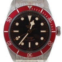 Tudor 2014 Heritage Black Bay Black Dial Red Bezel
