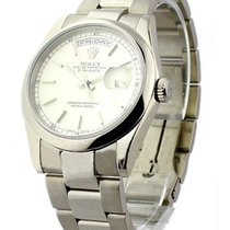 Rolex Used 18209 Rolex Day Date President in White Gold with...