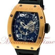 Richard Mille RM-010 Automatic, Skeleton Dial - Rose Gold on...