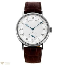 Breguet Classique Manual Wind 18K White Gold Men`s Watch