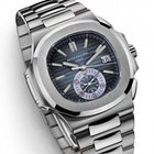 Patek Philippe [ONLY 1] Nautilus Chrono Blue Dial 5980/1A-001...