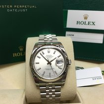 Rolex Cally - 116234 36mm Oyster Perpetual Datejust Silver Stick