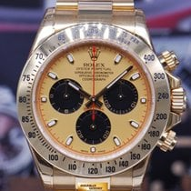 Rolex Oyster Perpetual Daytona 18k Yellow Gold Ref : 116528...