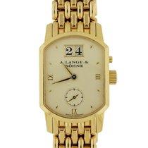 "A. Lange & Söhne, ""Arcade"" 18k YG Bracelet Watch"