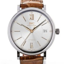 IWC Portofino Medium 37 Brown Leather