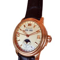 블랑팡 (Blancpain) Leman Rose Gold  Moonphase Half-hunter