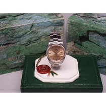 Rolex Call Now Date Serpico Y Laino Champagne Smooth w/Box 35mm